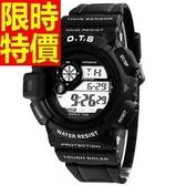 運動手錶-防水復古休閒電子腕錶5色61ab12【時尚巴黎】