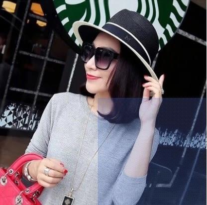 [協貿國際]  女士夏季遮陽可折疊草帽 (1入)