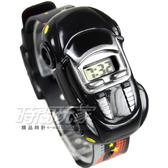 酷炫飆速玩具跑車電子錶 SKMEI時刻美 時尚創意手錶 SK1241黑 兒童電子錶 可拆玩具車兒童手錶