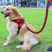 狗項圈 狗狗牽引繩胸背帶小型中型大型犬狗鍊子項圈金毛泰迪狗帶外出舒適 卡菲婭