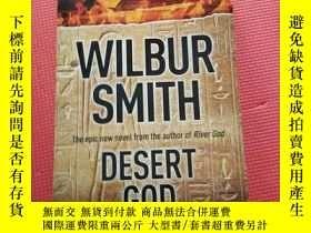 二手書博民逛書店WILBUR罕見SMITH DESERT GODY267886