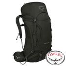 【美國 OSPREY】Kestrel 48 透氣登山背包 46L S/M『黑』10001817 登山.露營.休閒.旅遊.戶外.後背包