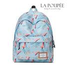 後背包 幸福代表紅鶴印花A4大容量書包-La Poupee樂芙比質感包飾 (預購+好禮)