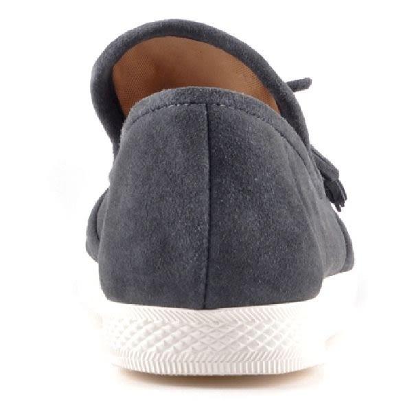 ALL BLACK  甜美蝴蝶結休閒鞋  -灰色