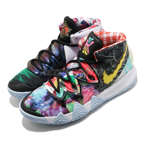 Nike 籃球鞋 Kybrid S2 EP 彩色 海綿寶寶 鳳梨 男鞋 女鞋 Kyrie 合體款 限量款 【ACS】 CT1971-900