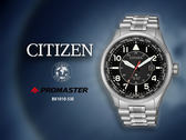 【時間道】CITIZEN 星辰 PROMASTER運動風萬年曆腕錶/黑面鋼帶(BX1010-53E)免運費