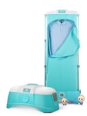 烘乾機 乾衣機小型除?殺菌衣物機家用便攜摺疊衣服烘衣機速乾衣機架T 2色