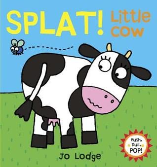 『小動物的伸展操 』 SPLAT! LITTLE COW /幼兒操作書  (知名作家:Jo Lodge的操作書)