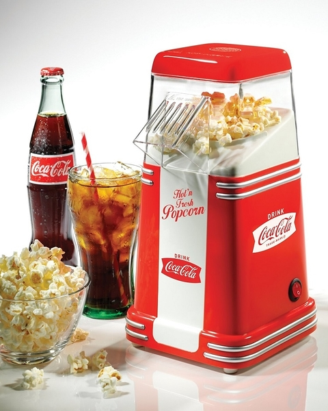 ::bonJOIE:: 美國進口 Nostalgia Coca Cola 迷你可口可樂 爆米花機 Electrics Mini Hot Air Popcorn Popper