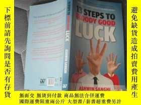 二手書博民逛書店13罕見STEPS TO BLOODY GOOD LUCK【扉頁