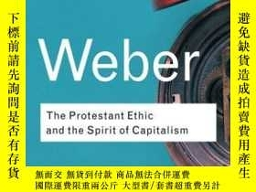 二手書博民逛書店The罕見Protestant Ethic And The Spirit Of CapitalismY3621