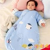 兒童睡袋春夏薄款新生幼兒童四季通用寶寶純棉防踢被【淘嘟嘟】