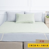 HOLA 艾爾亞藤抗菌防蟎單人床蓆 105x186cm 綠
