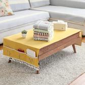 時尚可愛空間餐桌布 茶几布 隔熱墊 鍋墊 杯墊桌旗茶几布159 (70*150cm)