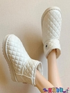雪地靴 網紅雪地靴女2021年新款冬季東北防水防滑短筒靴加絨加厚保暖棉鞋寶貝計畫 上新