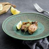 陶瓷餐盤創意西餐盤原創盤子菜盤家用簡約個性牛排盤點心盤北歐風   LannaS
