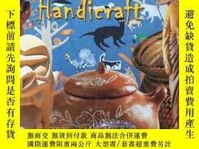 二手書博民逛書店Art罕見of Brazilian Handicraft (Po