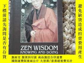 二手書博民逛書店Zen罕見WisdomY137730 Master SHENG YEN DEEHAMA DRUM 出版199
