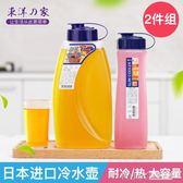 冷水壺涼水壺塑料冰箱飲料果汁瓶家用耐高溫冰水壺大容量igo 溫暖享家