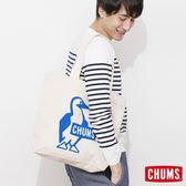 CHUMS 日本 帆布包 購物袋 舒適寬肩帶 藍 CH602149A001NS