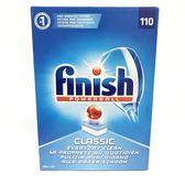 英國進口 Finish 洗碗專用 洗碗錠- 每盒110錠裝(特大容量)