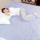 電熱毯 愛貝斯安全電熱毯雙人調溫輻射單人電褥子雙控宿舍學生女家用男220v 晶彩生活