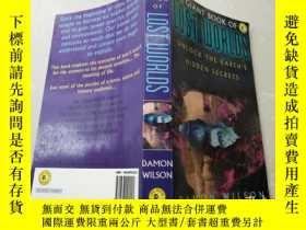 二手書博民逛書店The罕見Giant Book of Lost Worlds. Unlock the Earths Hidden