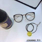 男女文藝原宿近視眼鏡框架潮