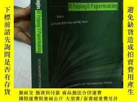 二手書博民逛書店EMERGING罕見Technologies of pulping papermaking 制漿造紙新技術 8開