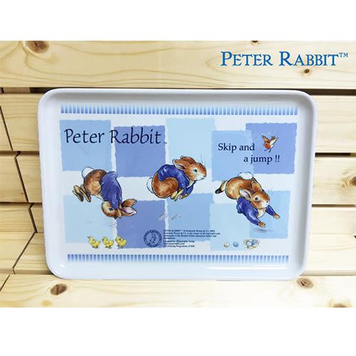 【クロワッサン科羅沙】Peter Rabbit 比得兔美耐皿長方盤14吋 藍色 I-008