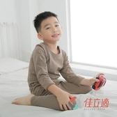 【南紡購物中心】3M-佳立適-兒童升溫蓄熱保暖衣-圓領-卡其色