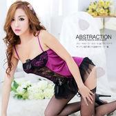 情趣用品  (任選2件990元) 華麗薔薇‧精緻性感誘惑馬甲+丁字褲  調情服飾