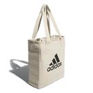 adidas 托特包 Canvas Per Tote Bag 米白 購物袋 單肩背 男女款 【ACS】 FN1369