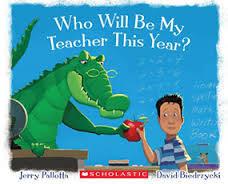 《主題:想像.趣味》WHO WILL BE MY TEACHER THIS YEAR /英文繪本
