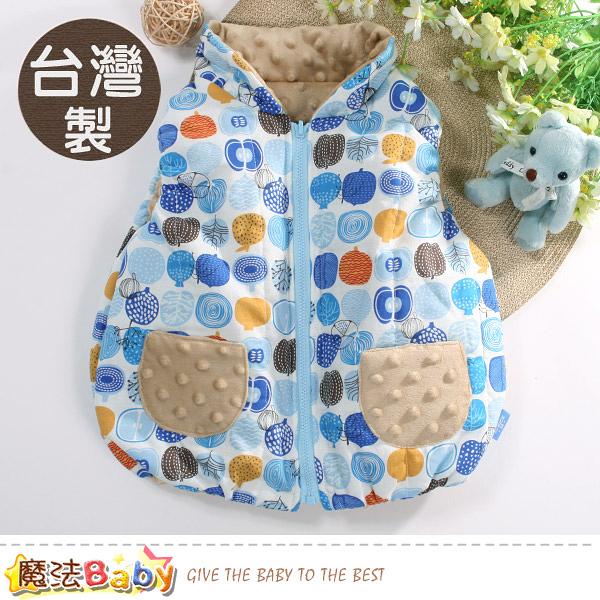 嬰幼兒外套 台灣製秋冬保暖鋪棉背心外套 魔法Baby