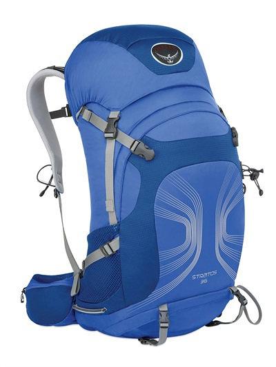 美國 Osprey Stratos 36L 登山背包/登山包/登山/健行/自助旅行/雙肩背包/透氣網架背包 適休閒旅遊.