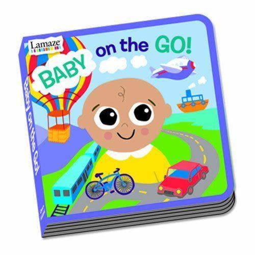 Lamaze拉梅茲嬰幼兒玩具 寶寶交通探險故事書_LC27906