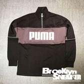 秋冬服飾 PUMA Retro 咖啡深藕 白logo 圓領衫 (布魯克林) 2018/10月 57767620