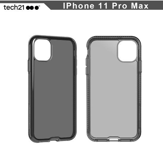 英國TECH 21抗衝擊 iPhone 11 PRO MAX 6.5吋 PURE TINT 防撞硬式透黑保護殼 手機殼