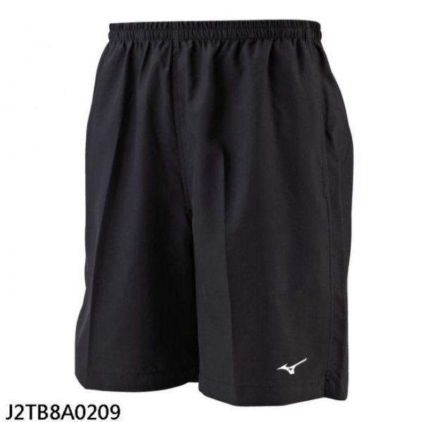 MIZUNO 男裝 短褲 慢跑 休閒 輕量 單層 速乾 舒適 透氣 黑【運動世界】J2TB8A0209