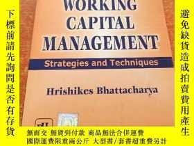 二手書博民逛書店Working罕見Capital Management: Strategies and Techniques營運資