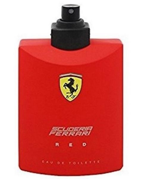 FERRARI 紅色法拉利 男性淡香水 125ml TESTER◐香水綁馬尾◐