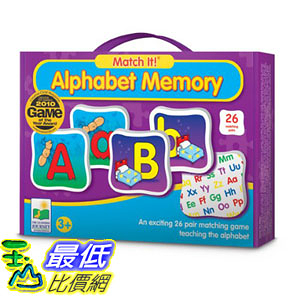 [106美國直購] 字母表 The Learning Journey Match It Memory Alphabet