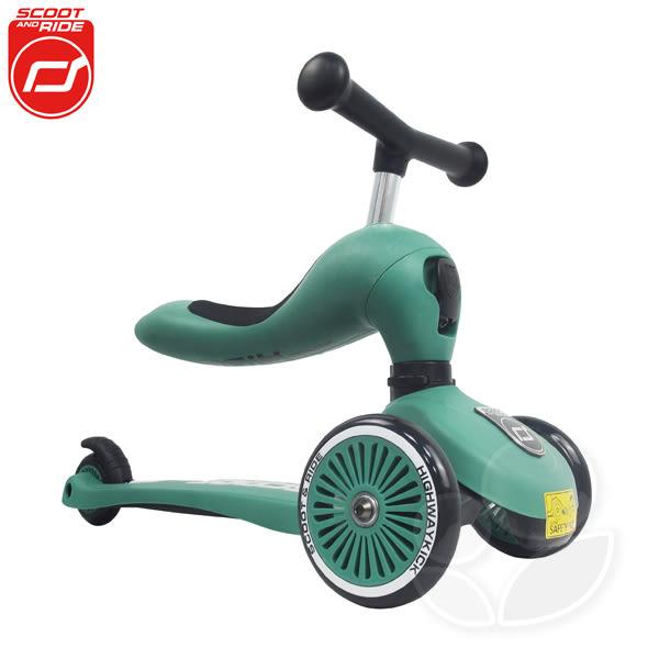 【公司貨】奧地利 Scoot&Ride Cool 飛滑步車/滑板車【佳兒園婦幼館】