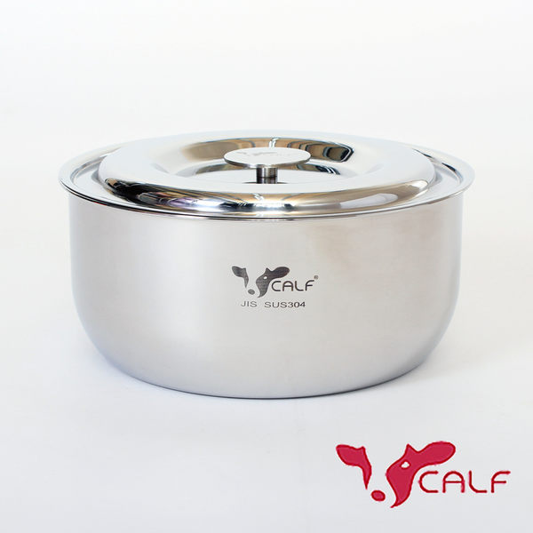 【火鍋季 】牛頭牌 新小牛料理鍋18cm-304不鏽鋼湯鍋電鍋內鍋 耐酸鹼抗氧化導熱快