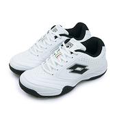 LIKA夢 LOTTO 多功能運動鞋 白色學生鞋 ROMA 白黑 2068-2 女
