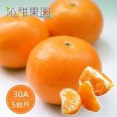 沁甜果園SSN.茂谷柑禮盒5台斤(30A)﹍愛食網