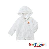 HOT BISCUITS 夏季抗UV餅乾熊連帽輕薄外套