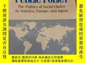 二手書博民逛書店COMPARATIVE罕見PUBLIC POLICY The Politics of SocialChoice i