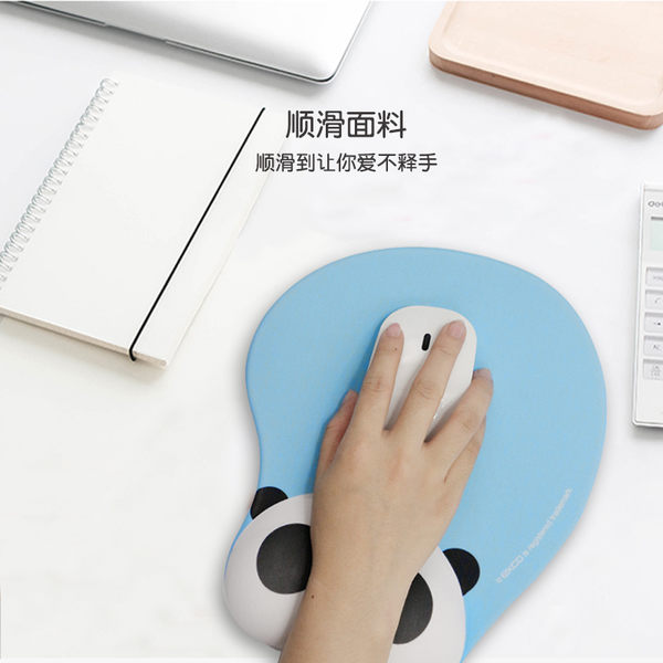 滑鼠墊卡通3D手腕墊硅膠護腕墊滑鼠墊護腕洛麗的雜貨鋪